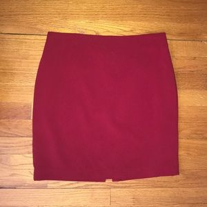 NWT Cache Red Skirt